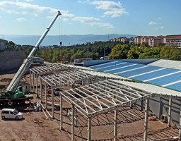 1000 m² Stok Alanı Yapımı